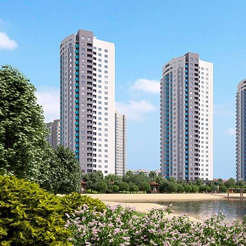 Архітектурна візуалізація житлового комплексу