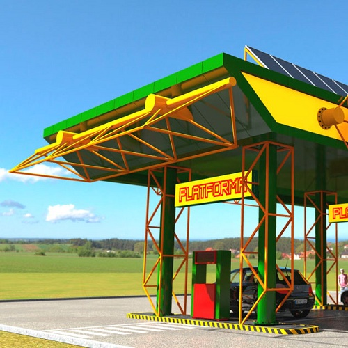 Візуалізація проекту заправочної станції
