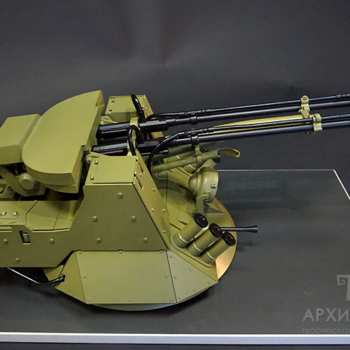 1/5 scale models of BM-23-2 weapon station