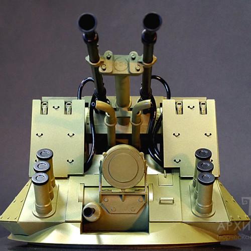 3D printing models of BM-23-2 weapon station