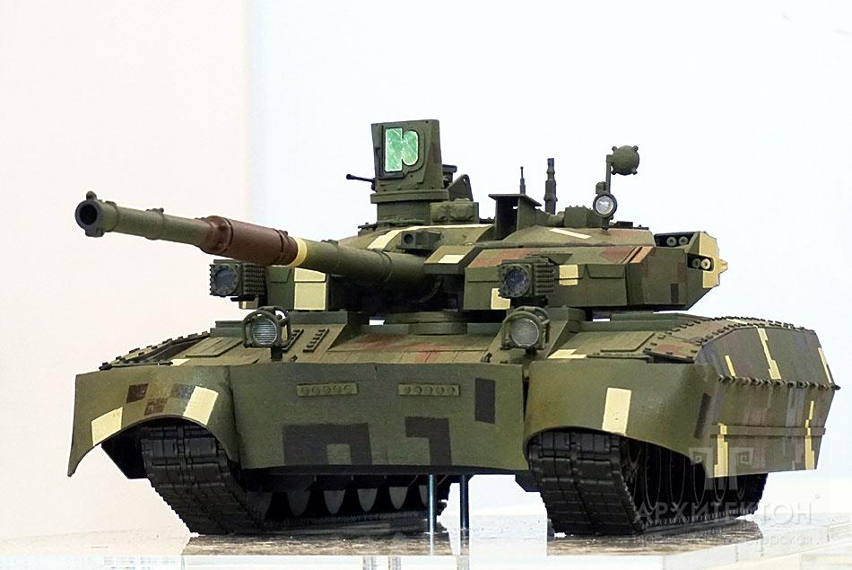 "Масштабна модель танка БМ ""ОПЛОТ"""