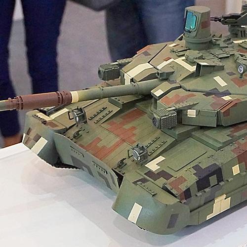 Масштабная модель танка Оплот 3Д печать на заказ