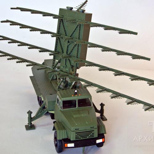 Модель радара МР18, масштаб 1/30