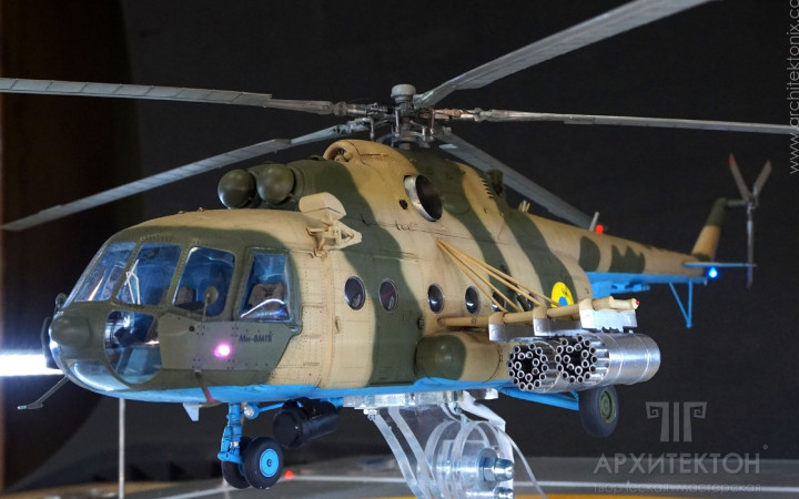 quality model making of aircrafts: helicopters, jets, missiles