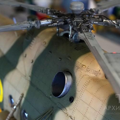 Виготовлення моделі вертольота Мі-8