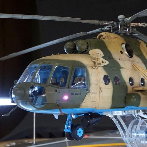 Изготовление модели вертолета Ми-8 на заказ