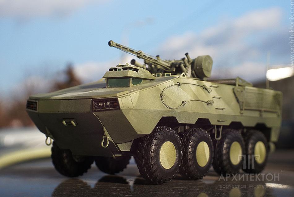 Масштабна модель БТР-60 Модернізований