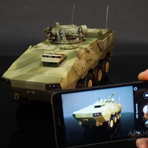 Виставкова модель БТР-60 Модернізований