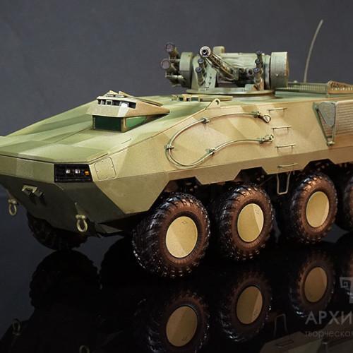 Виготовлення моделі БТР-60