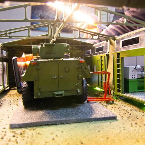 Виставковий пересувного комплексу ПК-ЛБТ-02 ХЗСМ