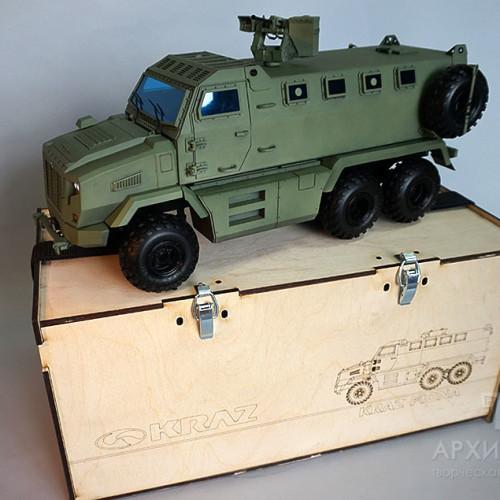 Изготовление модели MRAP КрАЗ Фиона под заказ