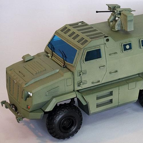 Изготовление на заказ моделей броневиков