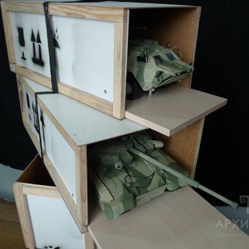 Виготовлення серії моделей БТР-4