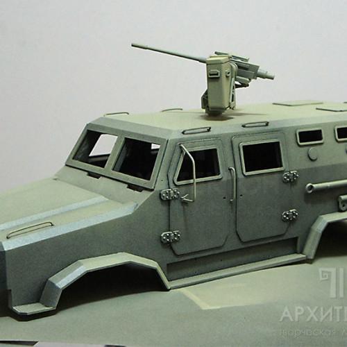 "Painting the body of the model ""КОZАК-2"""