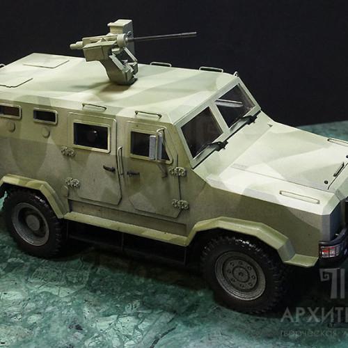 """Exhibition model of armored vehicle """"КОZАК-2"""""""