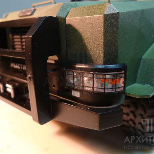 "1:20 scale Exhibition model of armored vehicle ""КОZАК-2"""
