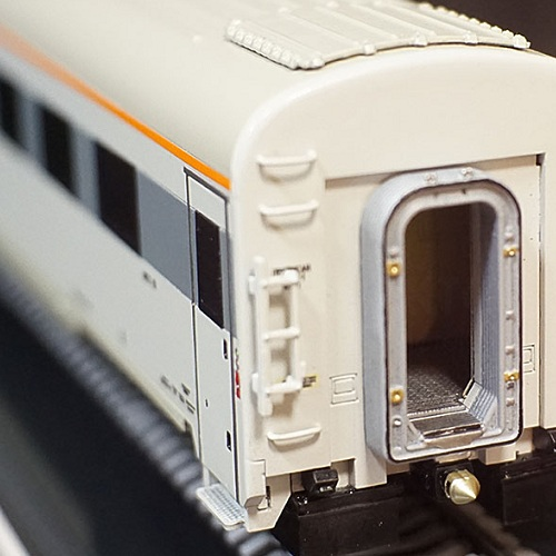 3D printing Passenger sleeping coach custom Model