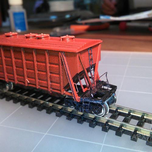N(1:160) scale Hopper model