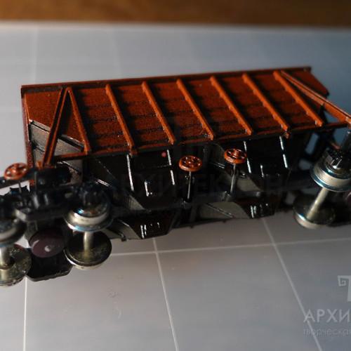 Custom made trains models