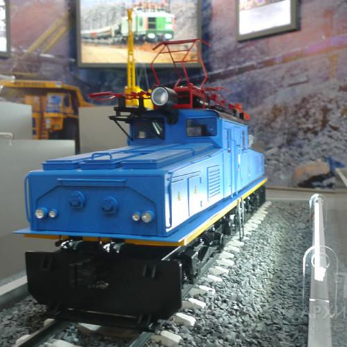 Museum model of EL2 electric locomotive